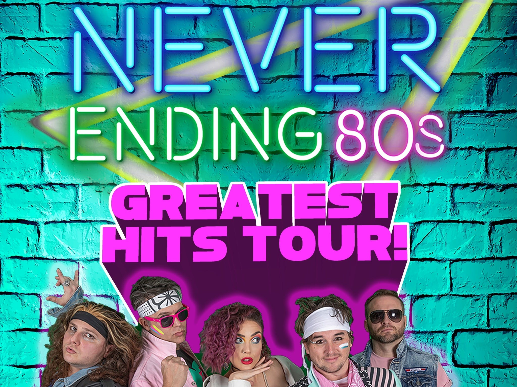 Never Ending 80s - The Greatest Hits Tour - Pubs Sydney