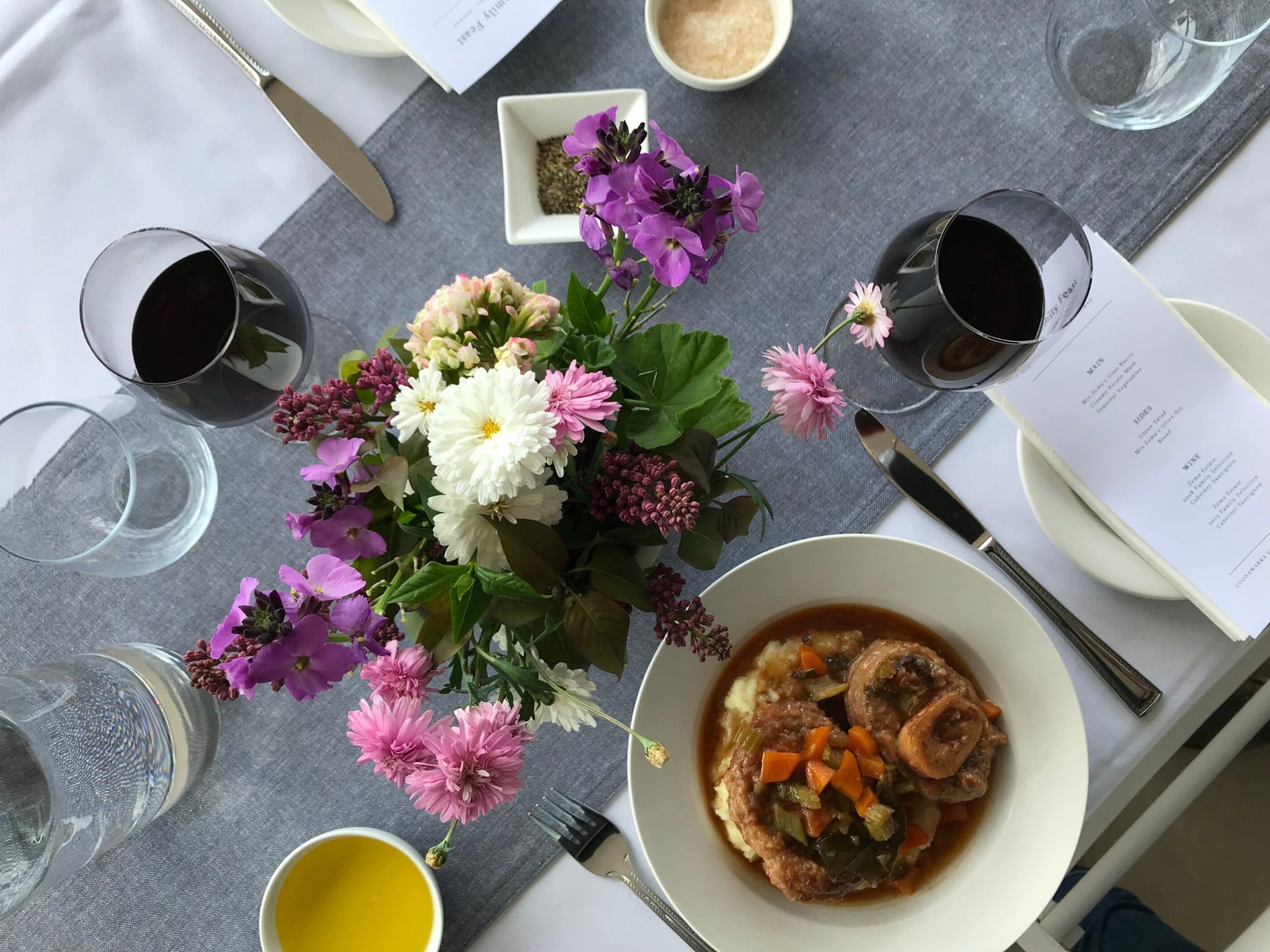 The Family Feast  Three Coonawarra families three tables three courses. - Pubs Sydney