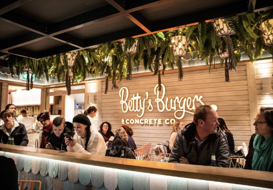 Betty's Burgers  Concrete Co - Pubs Sydney