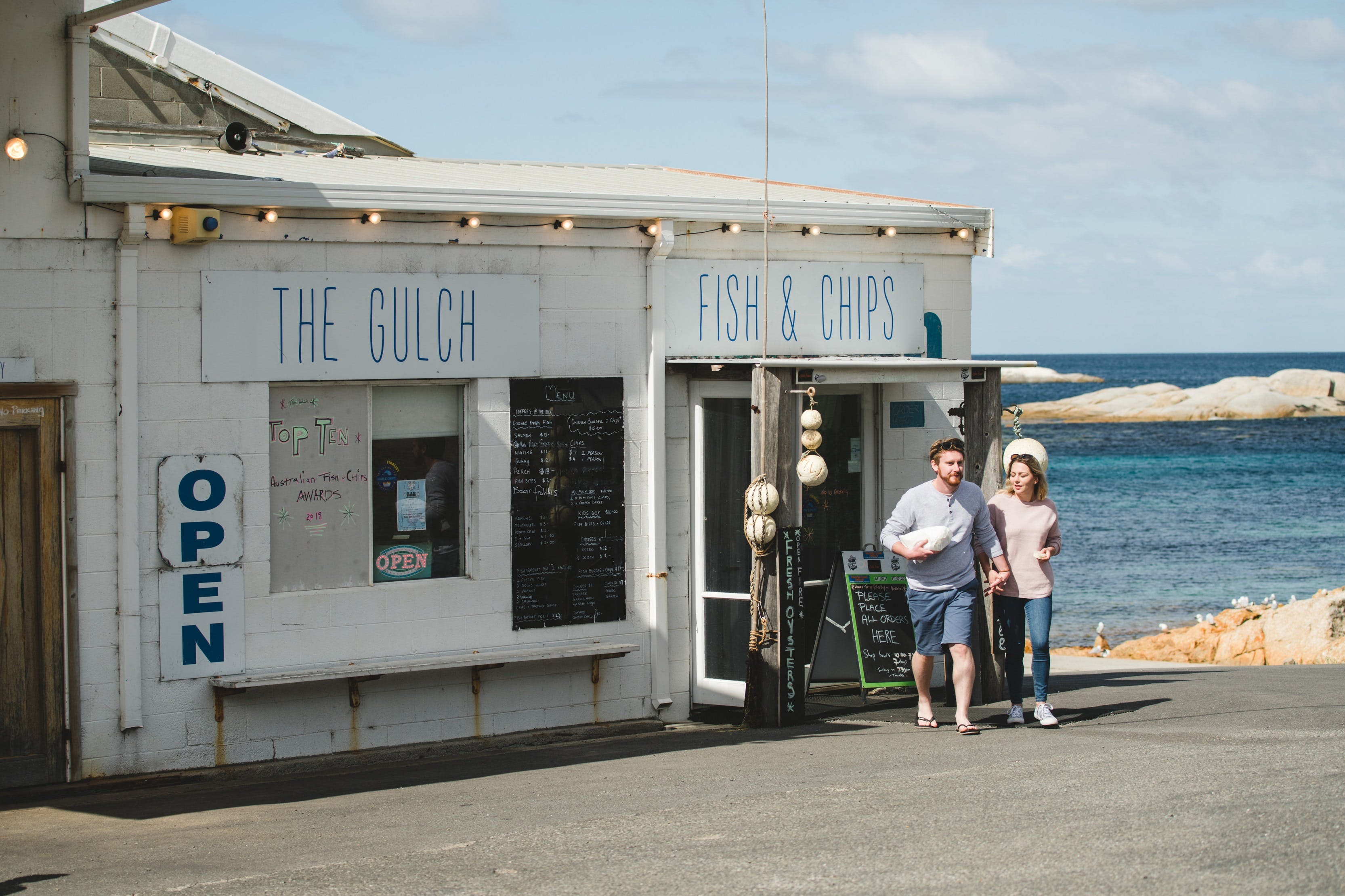 The Gulch Fish  Chips - Pubs Sydney