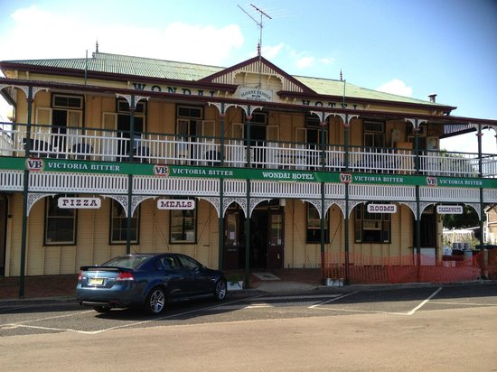 The Wondai Hotel  Cellar - Pubs Sydney
